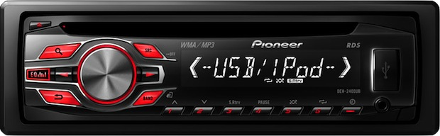 Pioneer DEH-2400UB Single-CD Car Receiver
