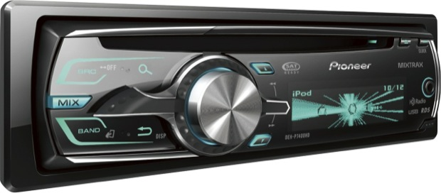 Pioneer DEH-P7400HD Single-CD Car Receiver