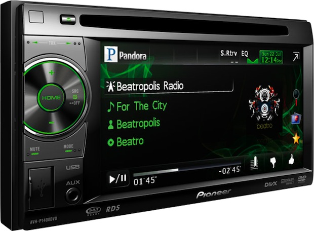 Pioneer AVH-P1400DVD Multimedia Car Head Unit