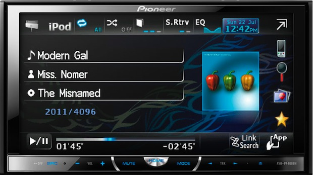 Pioneer AVH-P4400BH Multimedia Car Head Uni