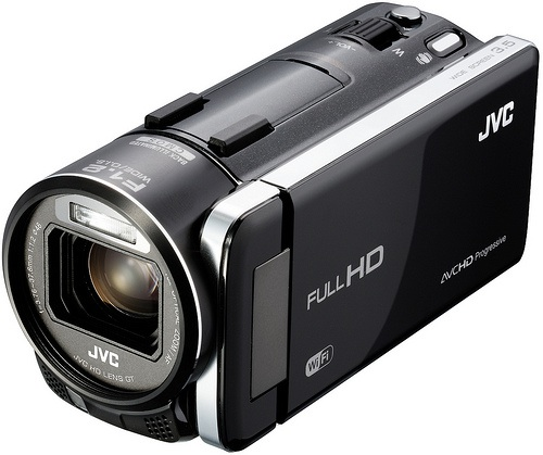 JVC Everio GZ-GX1 Wi-Fi Camcorder