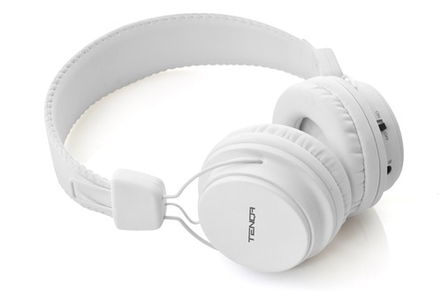Tenqa REMXD Bluetooth Headphones - White