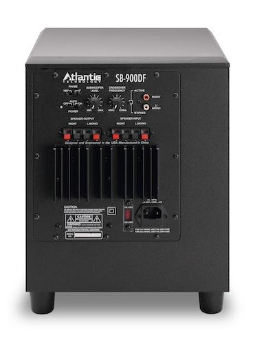 Atlantic Technology SB-900DF Subwoofer - Back