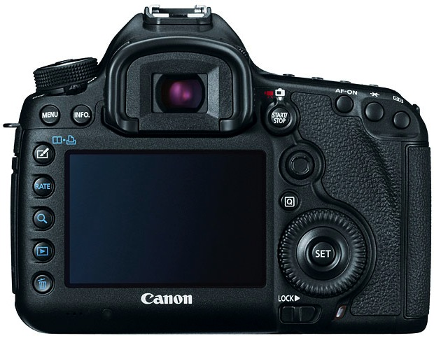 Canon EOS 5D Mark III Digital SLR Camera - Back