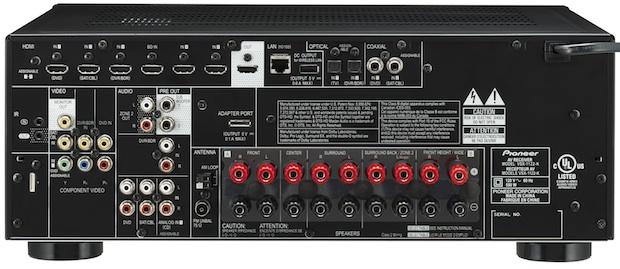 Pioneer VSX-1122 A/V Receiver - Back
