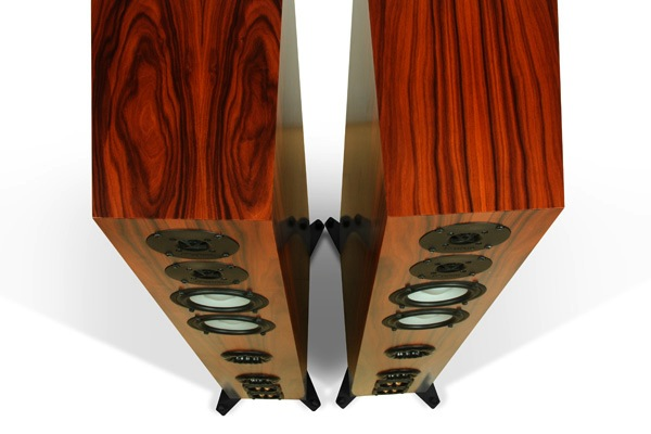 Axiom Audio M100 Omnidirectional Field Radiating Loudspeakers - Top