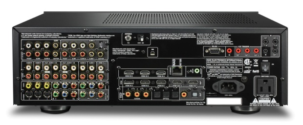 NAD T 187 Surround Sound Preamplifier/Processor - Back