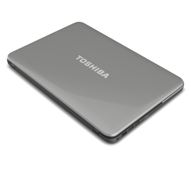 Toshiba Satellite C800 Series Laptop - Top