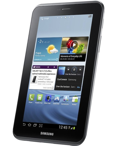 Samsung Galaxy Tab 2 Tablets