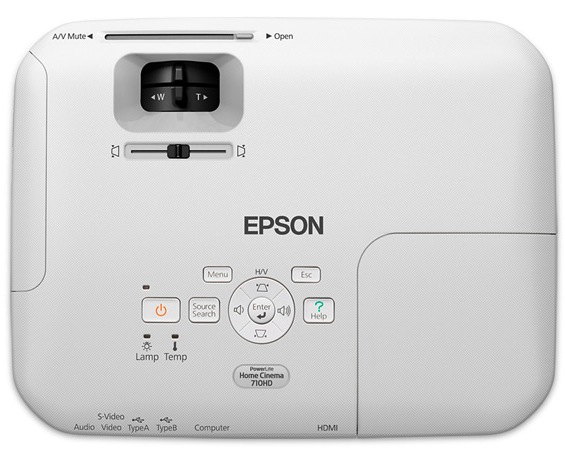Epson PowerLite Home Cinema 710HD LCD Projector