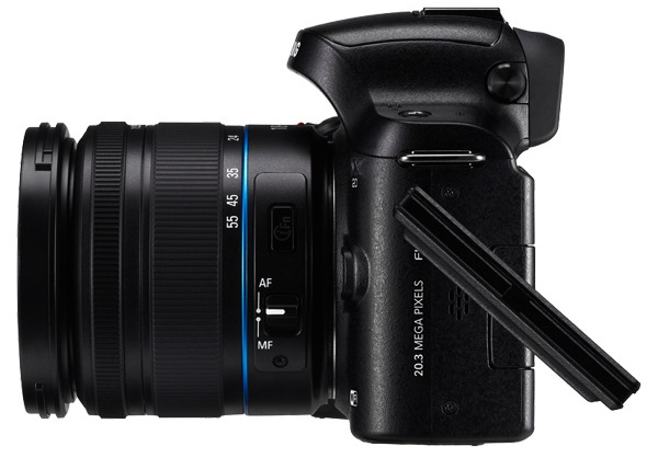 Samsung NX20 Interchangeable Lens Wi-Fi Digital Camera
