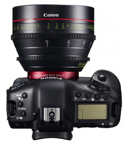 Canon EOS-1D C Digital SLR Camera - Top