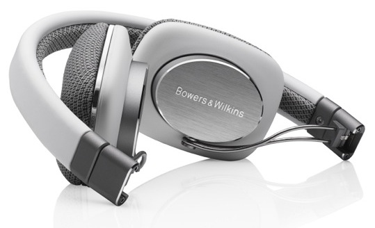 Bowers & Wilkins P3 Headphones - folded
