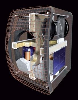 KEF LS50 Speaker Inside