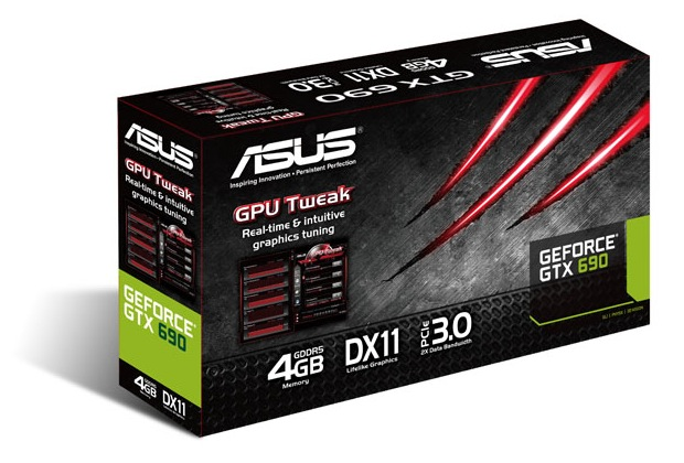 ASUS GeForce GTX 690 Dual-GPU Graphics Card