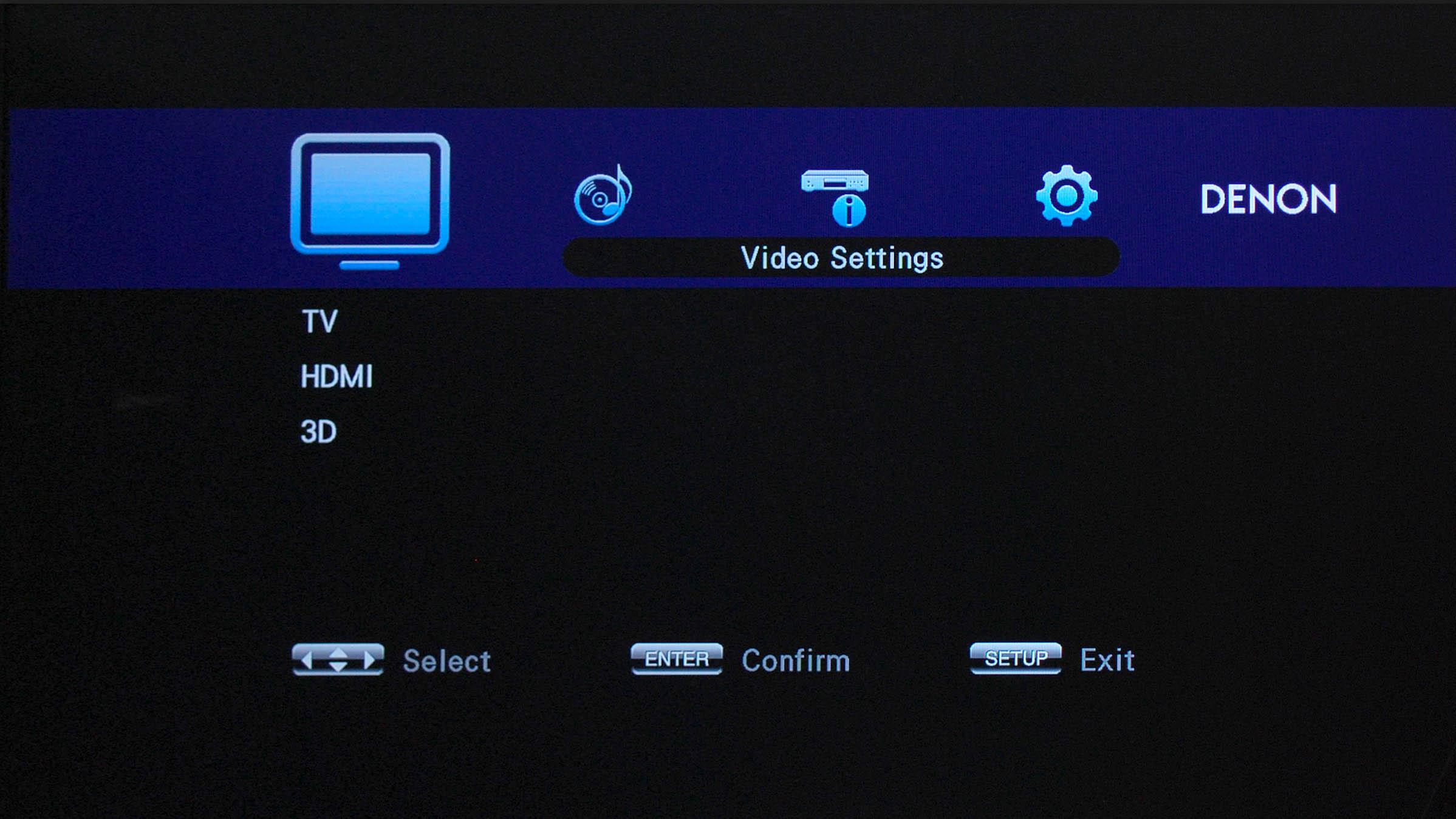 Denon DBT-1713UD GUI Screen 2