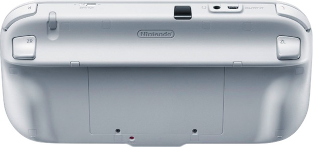 Nintendo Wii U GamePad - Back