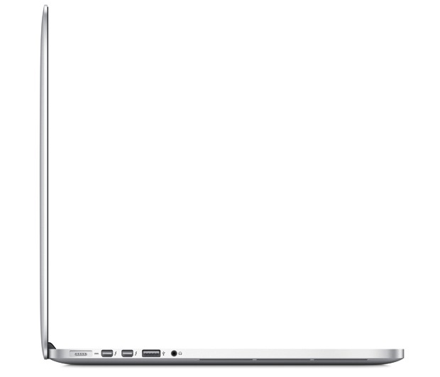 Apple MacBook Pro with Retina Display - Side