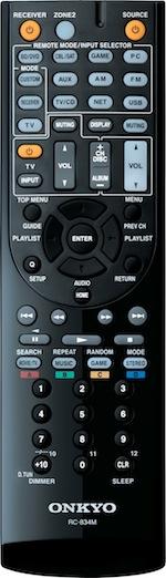 Onkyo RC-834M Remote Control