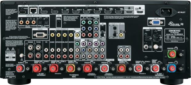 Onkyo TX-NR3010 A/V Receiver - back