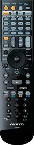 Onkyo Remote Control