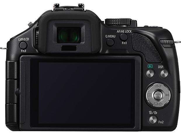 Panasonic DMC-G5 Lumix Micro Four Thirds Digital Camera - Back