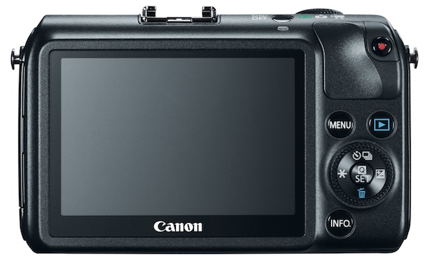Canon EOS M Interchangeable Lens Digital Camera - Back