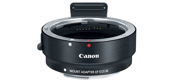 Canon EOS M Interchangeable Lens Mount Adapter