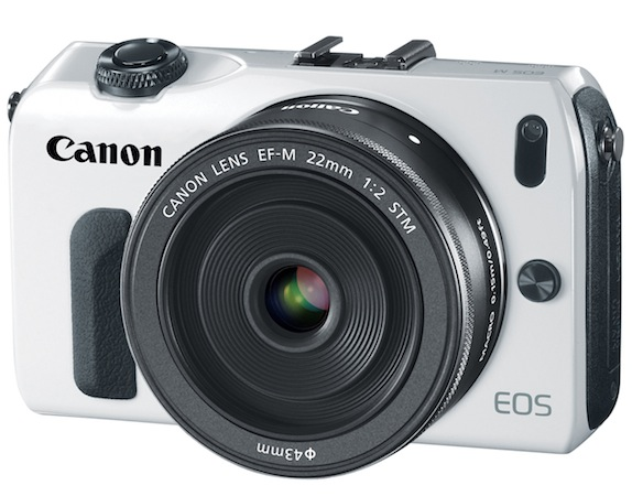 Canon EOS M Interchangeable Lens Digital Camera - White