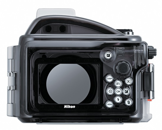 Nikon WP-N1 underwater case - back