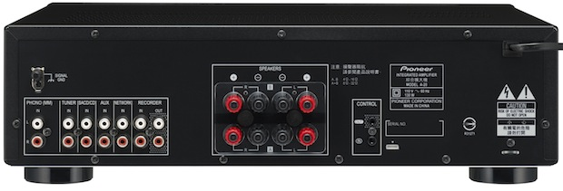 Pioneer Elite A-20 Integrated Stereo Amplifier - Back