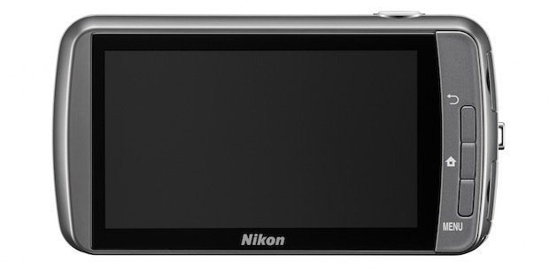 Nikon COOLPIX S800c Wi-Fi Digital Camera - Back
