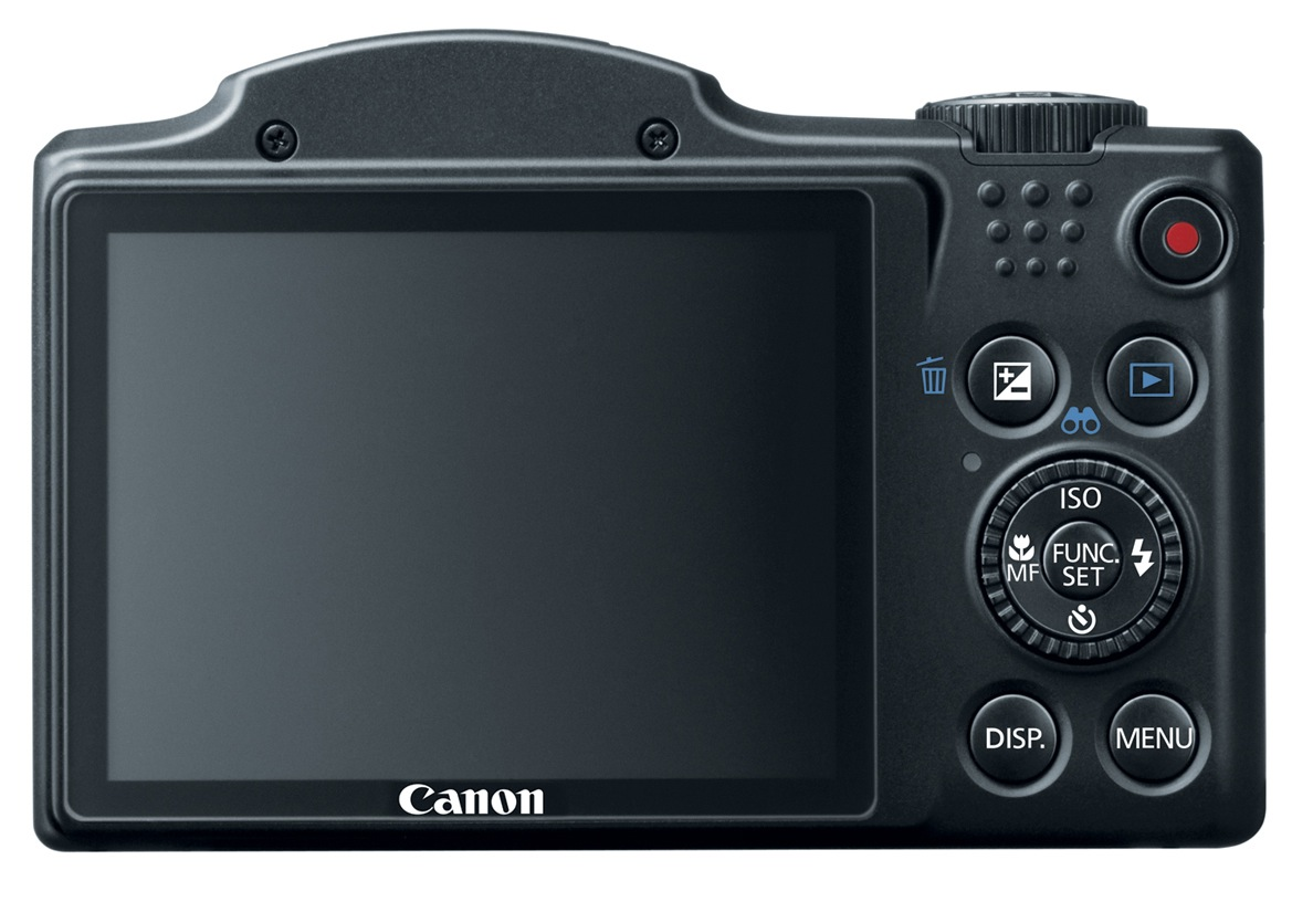 Canon PowerShot SX500 IS Digital Camera - Back