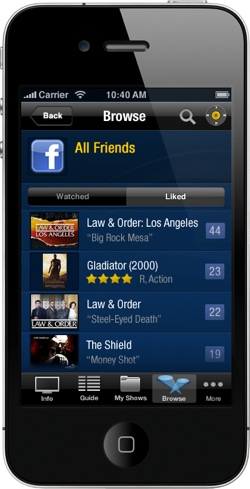TiVo iPhone app - Watched