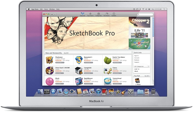 Apple Mac OS X Lion - Mac App Store