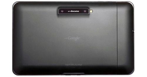 LG Optimus Pad - NTT DOCOMO - back