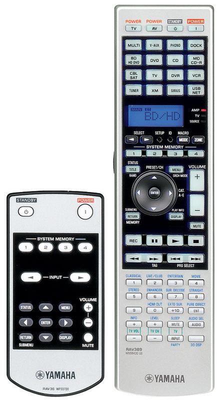 RX-Z7-remote