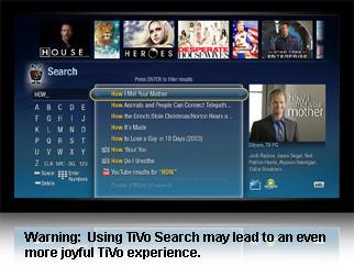 TiVo-Search