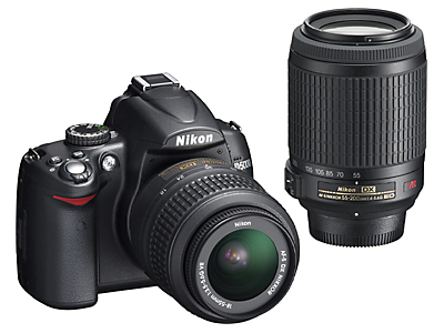 Nikon D5000 Digital SLR Camera and Lens