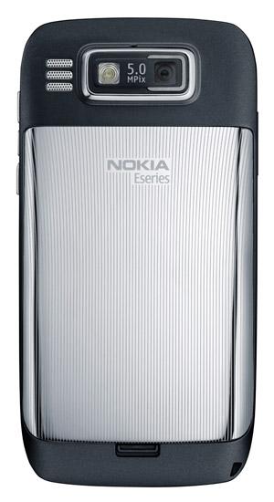 Nokia E72 - back