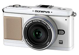 Olympus Pen E-P1 - White