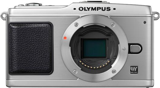Olympus Pen E-P1 - Front