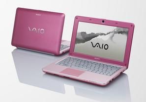 Sony VAIO W - Pink