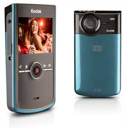 KODAK Zi8 Pocket Video Camera - Aqua