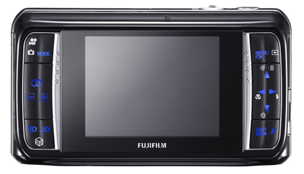 Fujifilm FinePix REAL 3D W1 Digital Camera - Back