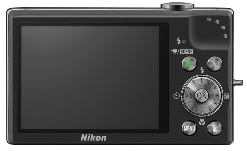 Nikon CoolPix S640 Digital Camera - Back
