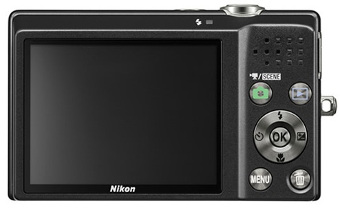 Nikono CoolPix S570 Digital Camera - Back