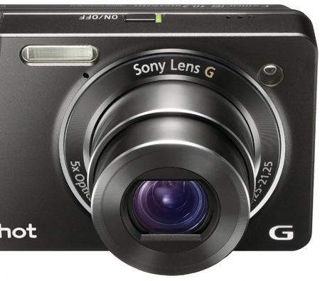 Sony DSC-WX1 Cyber-shot - Lens