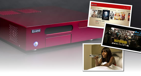 Okoro Special Edition Cherry Red Digital Entertainment System