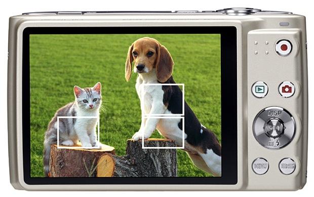 Casio EXILIM EX-Z450 Digital Camera - Back